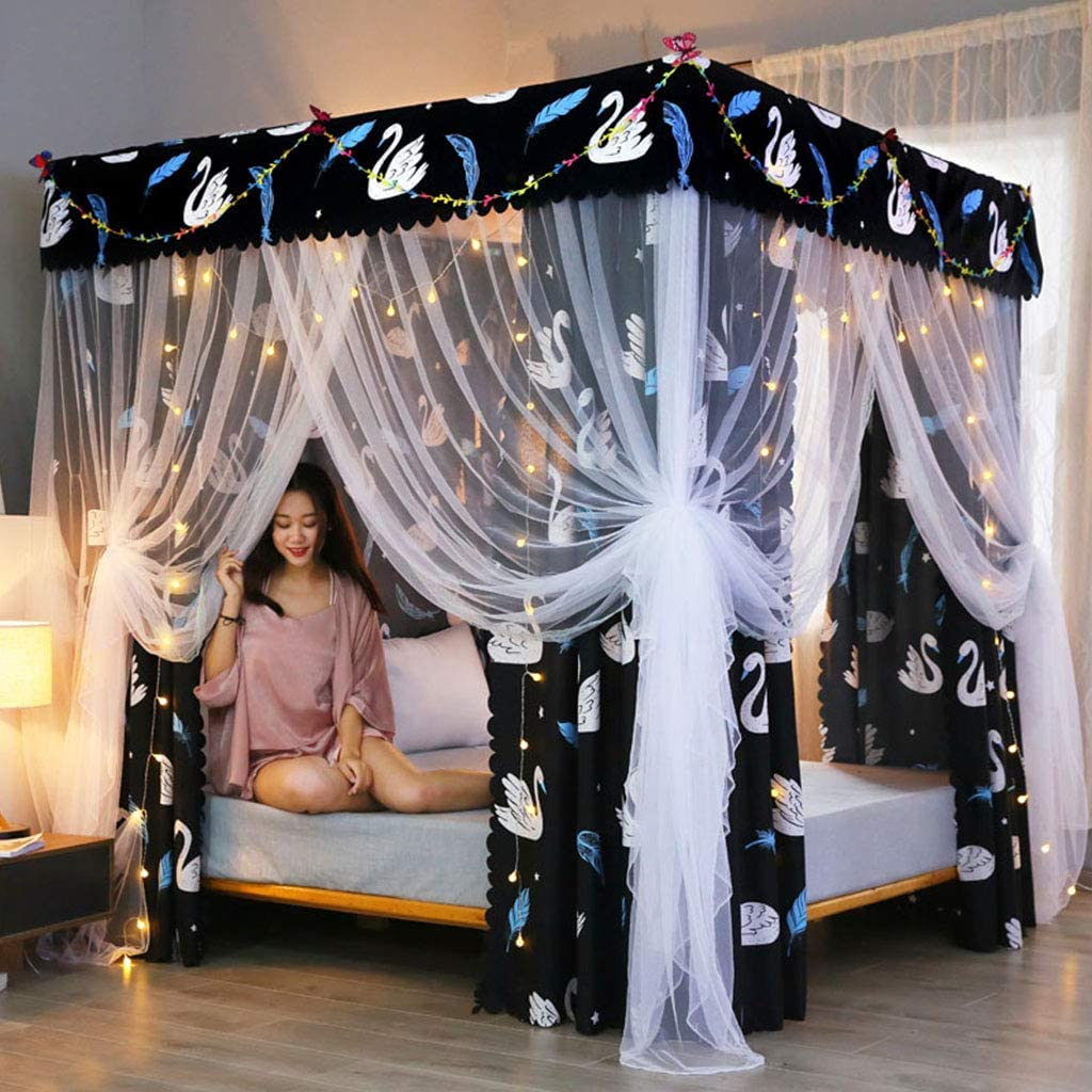 best-swan-bed-canopy-net-for-comfortable-sleep