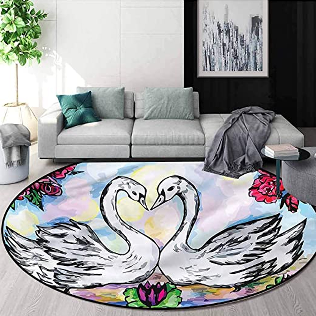 durable-swan-designed-rugs-for-living-rooms